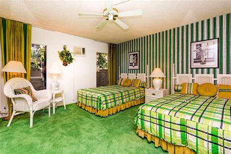 green and gold bedroom the time capsule house that turned modernism week