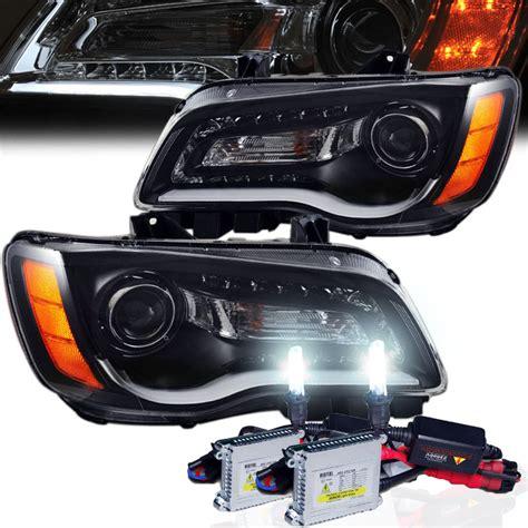 Chrysler 300 Hid Headlights hid xenon 2011 2014 chrysler 300 halogen model led drl