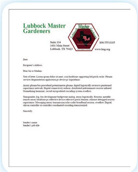 business letterhead information using logos business publications digital desktop