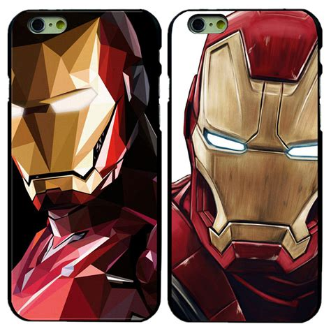 Ironman Marvel Silhoutte L0652 Iphone 5 5s Se Casing Custom Hardcas buy iron phone cases cover iphone 4 4s 5 5s 5c se