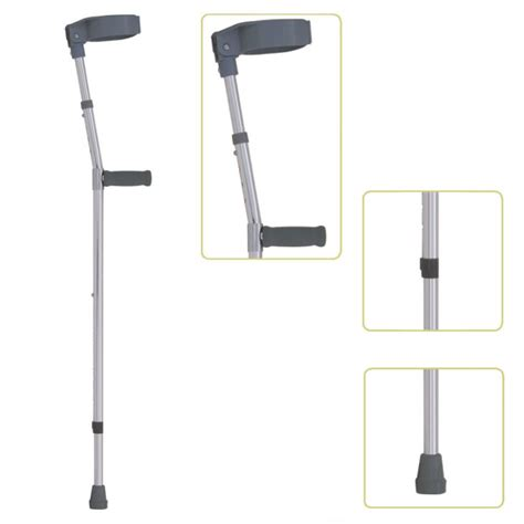 how to make crutches more comfortable on hands forearm crutch hand grips jl933l height adjustable