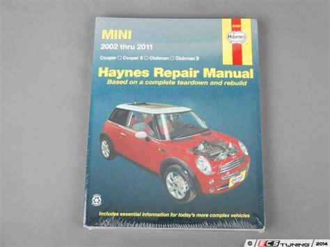 service manuals schematics 2006 mini cooper electronic throttle control ecs news mini cooper cooper s jcw haynes repair manual