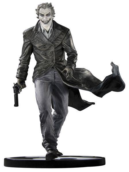 Jim Joker Gift 1fg Black batman black and white joker statue by bermejo