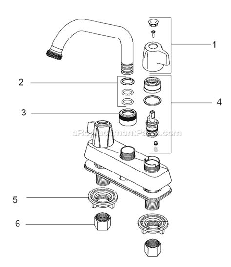 Specialty Plumbing Parts by Delta Faucet 2131 Parts List And Diagram