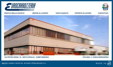 website design sito web eurocarrozzeria