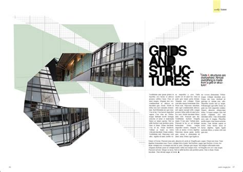design layout with grid magazine grids design it
