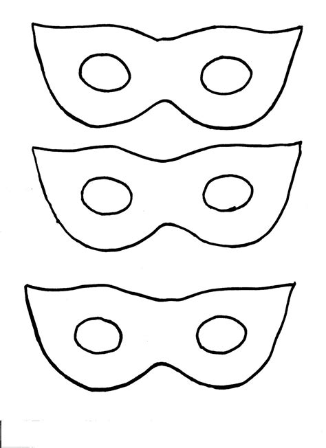 mask template nana brown s craft masquerade masks