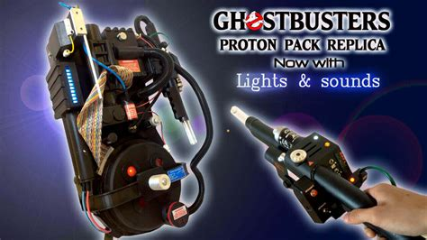 The Real Ghostbusters Proton Pack by Crossing Streams With A Ghostbusters Proton Pack Replica