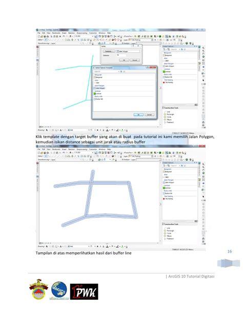 tutorial target arcgis digitasi