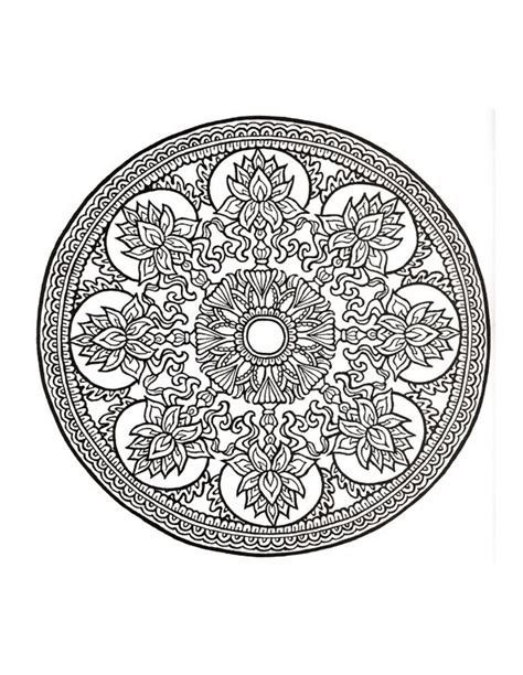 mystical mandala coloring book free mystical mandala coloring book drawing
