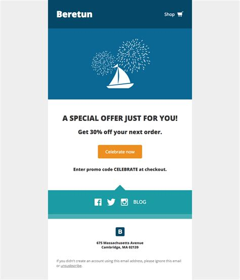 product email template 27 free email templates from litmus litmus software inc