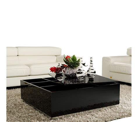 Dreamfurniture Com Modern Coffee Table With Storage 857ct Modern Coffee Tables With Storage
