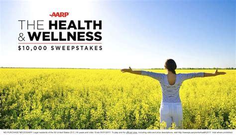 Aarp Sweepstakes - aarp s health and wellness 10 thrifty momma ramblings