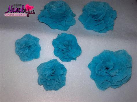 tutorial bunga dari kertas corat coret nusha bunga dari kertas creepe