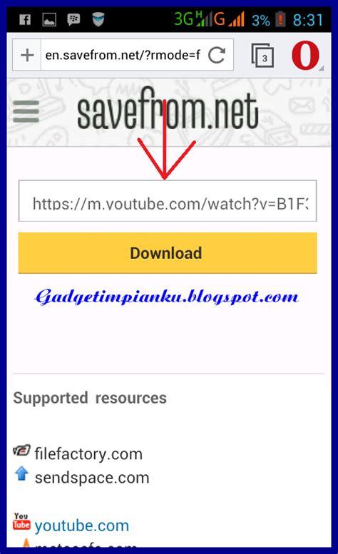 cara download mp3 dari youtube lewat hp android solusi praktis bagaimana cara download video di youtube