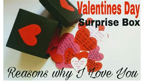 valentines surprises for diy s day box for boyfriend husband