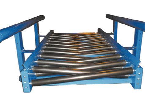 unique design conveyors troughed roller bed