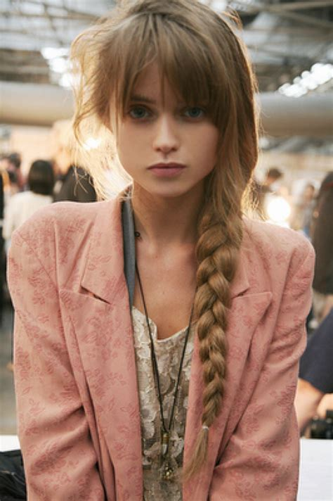 abbys braiding abbey lee kershaw model street style pre platinum