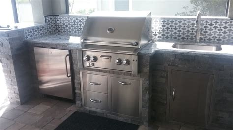 custom kitchen backsplash 2018 outdoor kitchens in fort myers naples estero radil construction