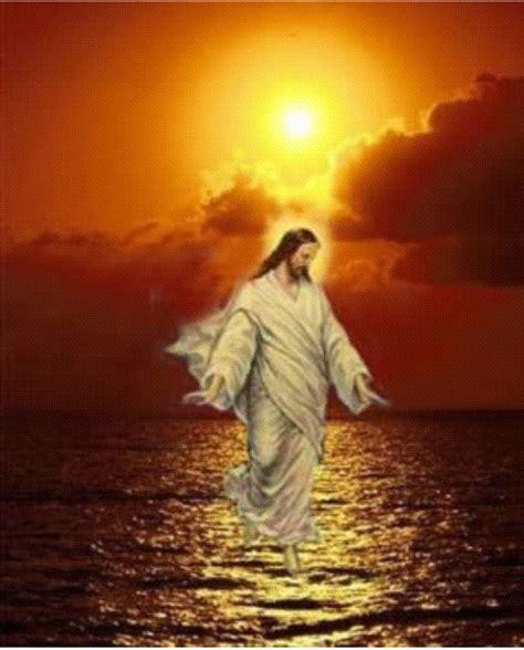wallpapers imagenes religiosas animadas j 233 sus marche sur les eaux centerblog