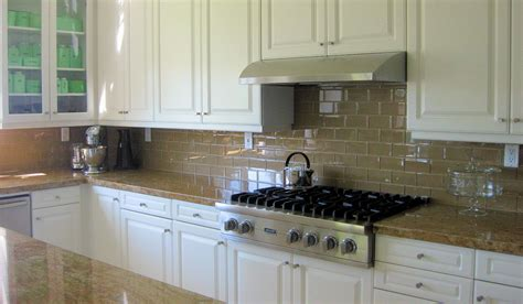 Kitchen Subway Backsplash two reasons why subway tile backsplash is your best choice