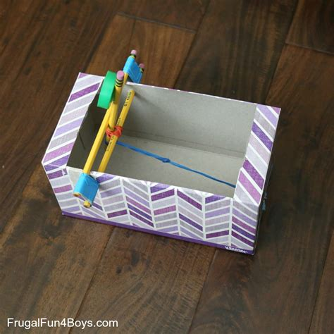 Box Tissue Mobil 8 tissue box catapult frugal for boys and
