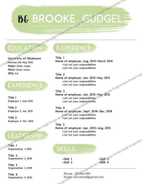 12 Best Images About Creative Spice On Pinterest Sorority Social Resume Template