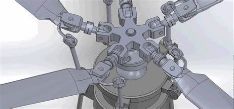 solidworks animation tutorial of stator rotor assembly helicopter rotor assembly 5 youtube