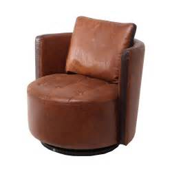Swivel Leather Armchair by Milton Swivel Leather Armchair Next Day Delivery Milton