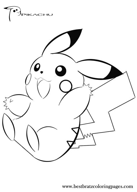 pokemon pikachu coloring pages online pikachu coloring pages