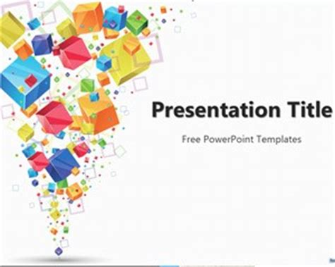 themes powerpoint free download 2015 3d cubes powerpoint template
