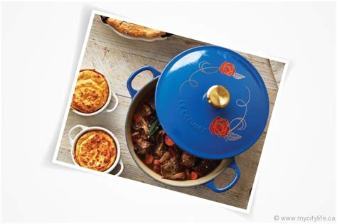 limited edition beauty and the beast le creuset cookware fall favourites brama lifestyles s kitchen products