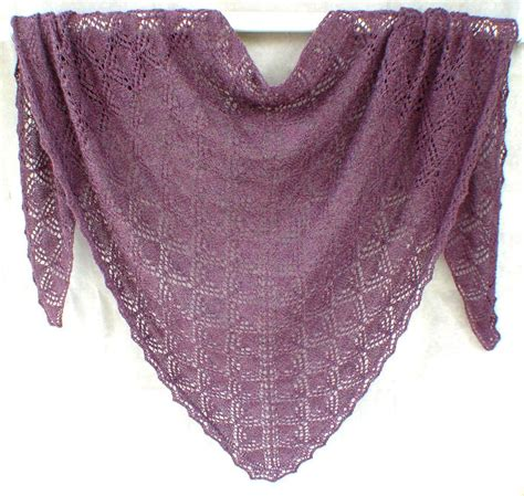 Pattern For Triangle Shawl | triangles within triangles shawl by jackiees craftsy