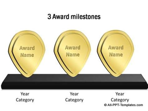 ppt templates for awards powerpoint award templates