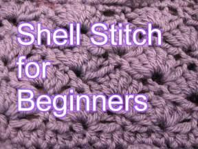 crochet shell stitch slow motion crochet doovi