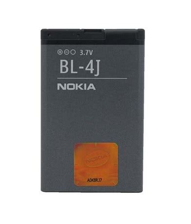 nokia battery battery bl 4j original original solution