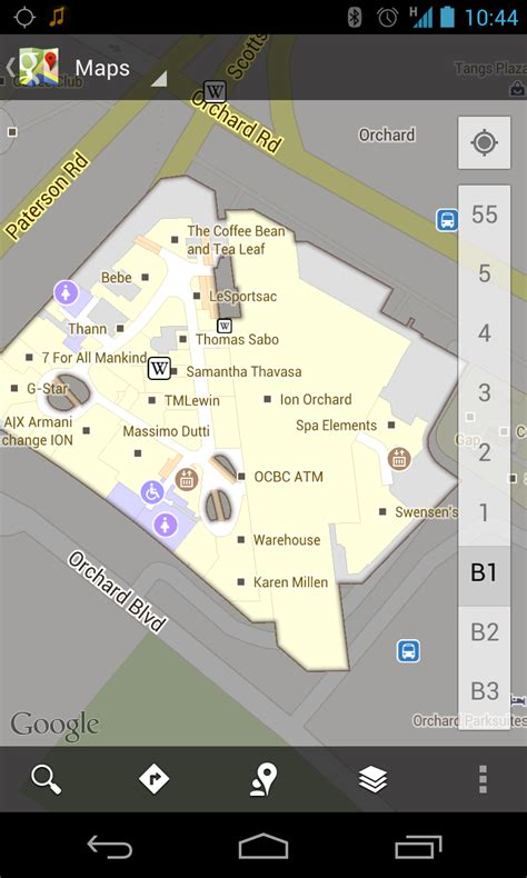 Android Floor Plan App Find Shops In Singapore With Google S New Indoor Maps