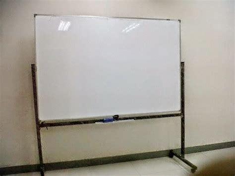 Papan Tulis Tempel Besar White Board Portable Whiteboard Gulung pusat rental sewa papan flipchart murah jakarta tangerang
