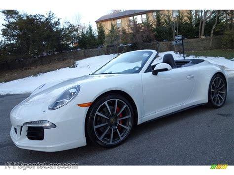 porsche cabriolet 2014 2014 porsche 911 4s cabriolet in white 154480