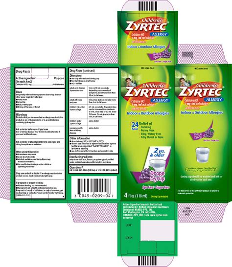 cetirizine dosage for dogs zyrtec dosage chart childrens zyrtec johnson johnson consumer inc mcneil