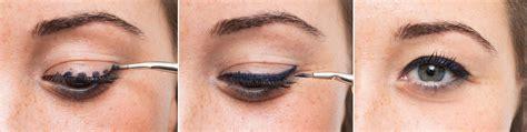 gambar tutorial eye liner cara pakai eyeliner bugna nirwana