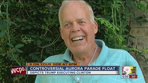 Frank Linkmeyer Parade Float Maker Apologizes Sort Of Indiana S Parade Float Has Executing Clinton By