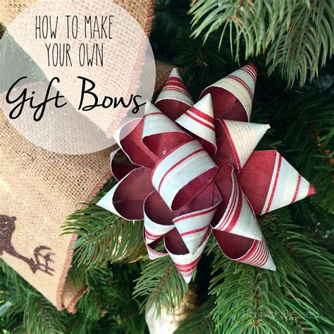hometalk how to make your own gift bows