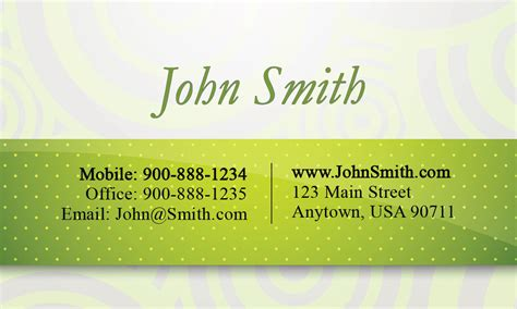 green and white business card template green and white consulting business card design 2001051