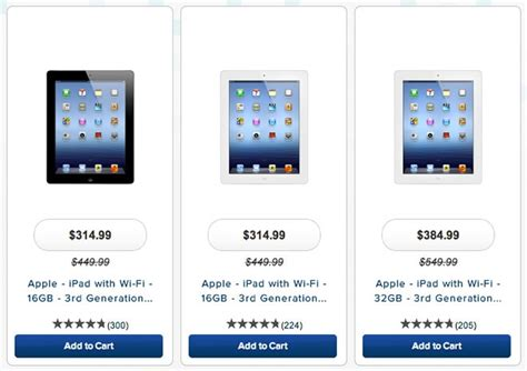 apple ipads best price prices get slashed by major retailers new version on