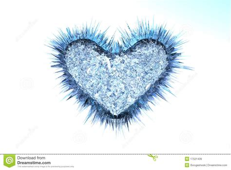 icy cold heart royalty  stock images image