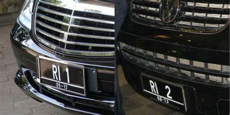 Lu Plat Nomor Mobil Siapakah Pemilik Plat Nomor Ri 3 Dan Ri 4 Co Id