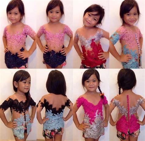 Kebaya Bali Modifikasi Cantik 003 jual kebaya anak modifikasi bali erika cantik