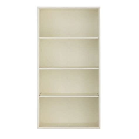 home depot white bookcase home decorators collection baxter white open bookcase