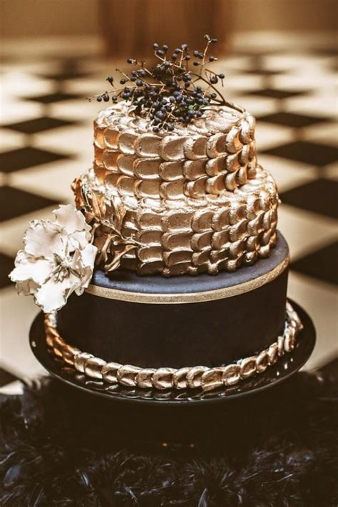 black and gold new years cake black and gold new year s wedding 2478901